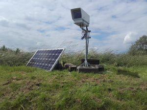 Solar powered time-lapse camera